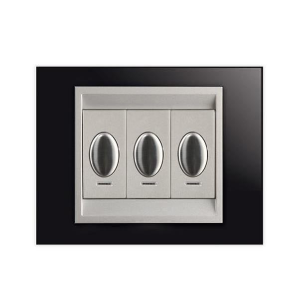 plaque verre noir ingelec. Black Bedroom Furniture Sets. Home Design Ideas